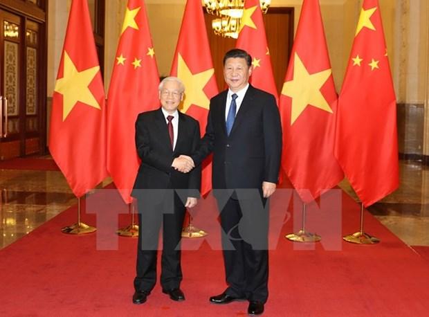 Le Vietnam et la Chine signent 15 documents de cooperation hinh anh 1