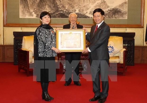 Le SG Nguyen Phu Trong met en avant l'amitie et la confiance entre le Vietnam et la Chine hinh anh 2