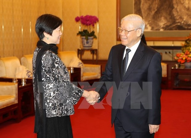 Le SG Nguyen Phu Trong met en avant l'amitie et la confiance entre le Vietnam et la Chine hinh anh 1
