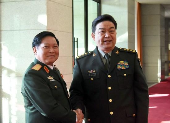 Vietnam-Chine : Les ministeres de la Defense resolus a hisser les liens a un nouveau palier hinh anh 1