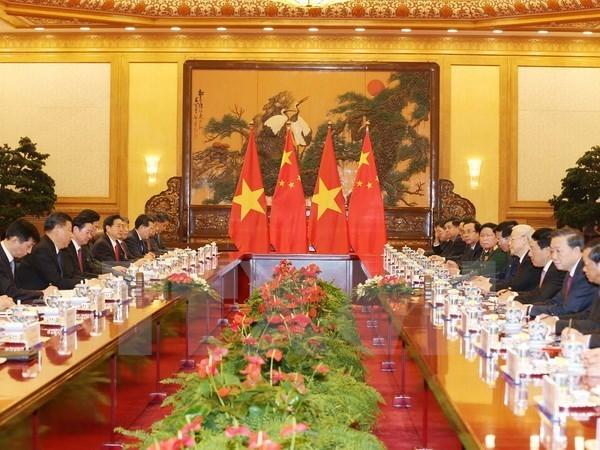 Le Vietnam et la Chine boostent leur partenariat de cooperation strategique integrale hinh anh 2