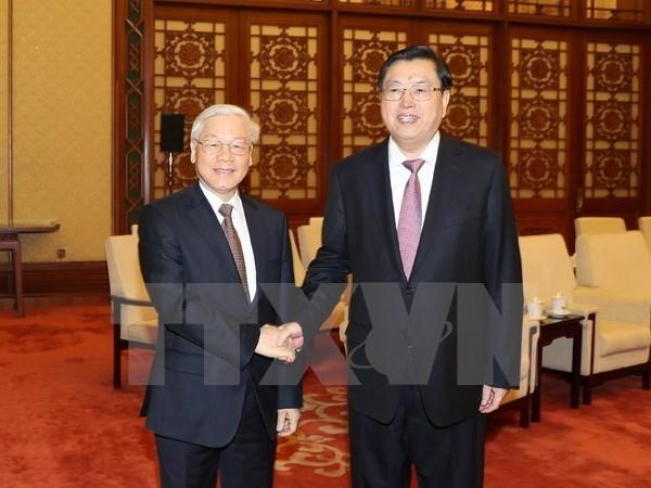 Le Vietnam et la Chine boostent leur partenariat de cooperation strategique integrale hinh anh 4