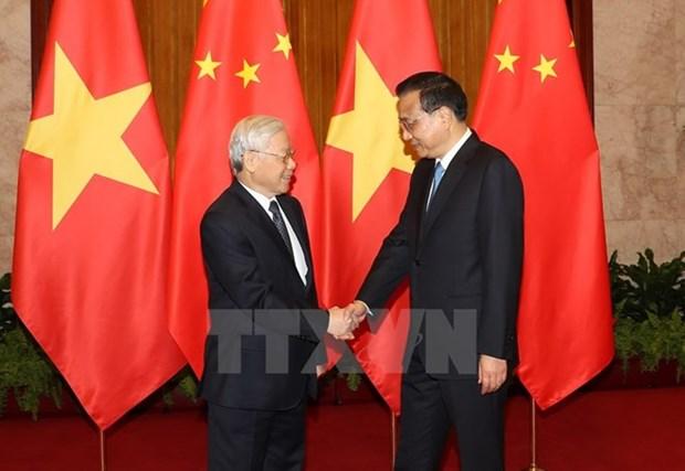 Le Vietnam et la Chine boostent leur partenariat de cooperation strategique integrale hinh anh 3