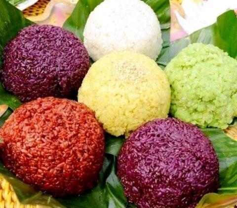 Le riz gluant cuit a la vapeur, un plat bien connu pour tous les gouts hinh anh 4