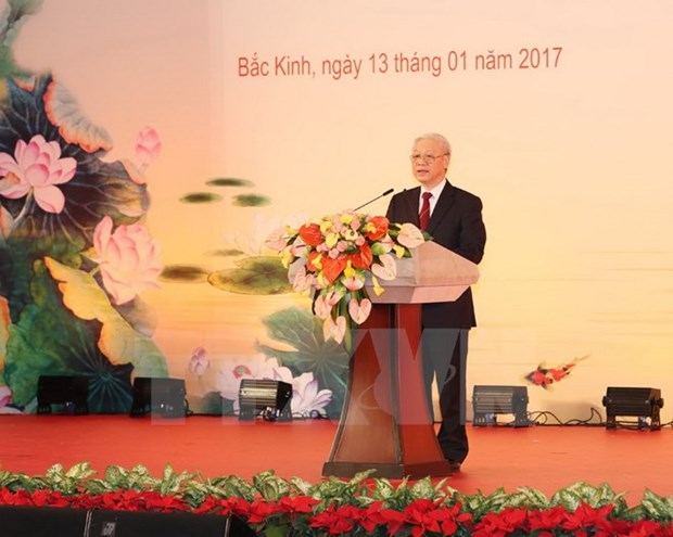 Le secretaire general Nguyen Phu Trong reaffirme l'amitie Vietnam-Chine hinh anh 2