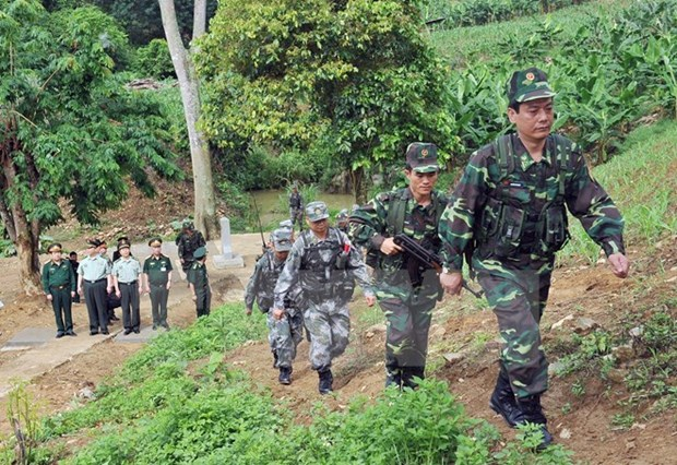 Plusieurs mesures adoptees pour mieux gerer la frontiere Vietnam-Chine hinh anh 1