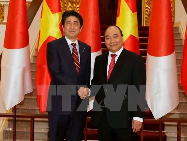 Entretien Nguyen Xuan Phuc – Shinzo Abe hinh anh 1