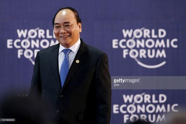 Les liens entre le Vietnam et le Forum de Davos au beau fixe hinh anh 1