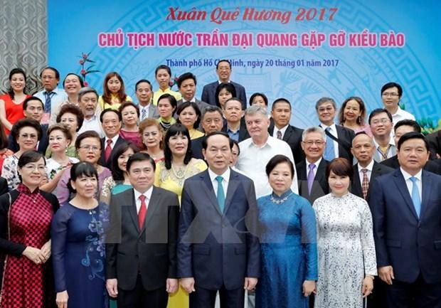Le president salue les contributions des compatriotes vietnamiens a l'etranger hinh anh 1