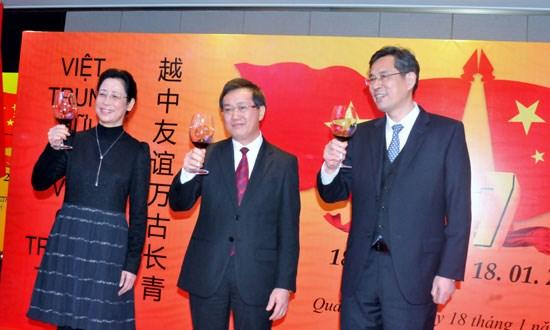 Les 67 ans de liens diplomatiques Vietnam-Chine celebres a Guangzhou hinh anh 1