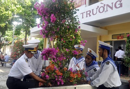 Le district insulaire de Truong Sa attend le Tet du Coq hinh anh 1