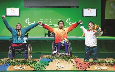 L'annee 2016 s'acheve en apotheose pour le sport vietnamien hinh anh 2