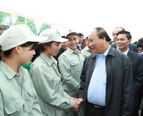Le Premier ministre Nguyen Xuan Phuc incite l'agriculture a relever le defi du high-tech hinh anh 1