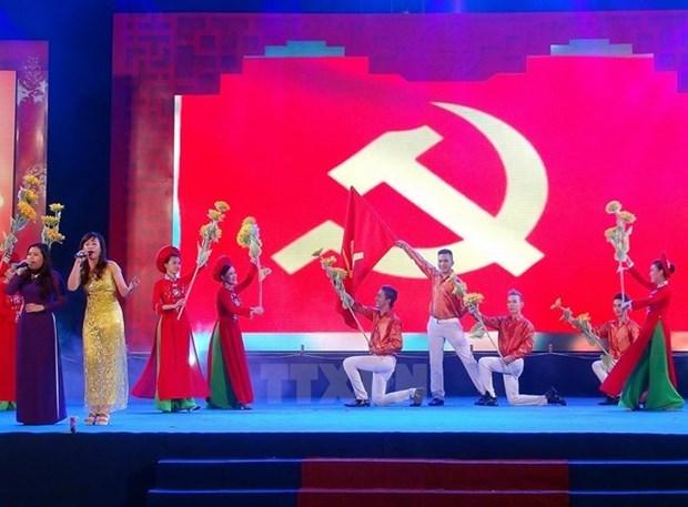 Messages de felicitations pour les 87 ans du Parti communiste vietnamien hinh anh 1