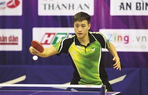 Nguyen Anh Tu, l'«oiseau rare» du tennis de table vietnamien hinh anh 1
