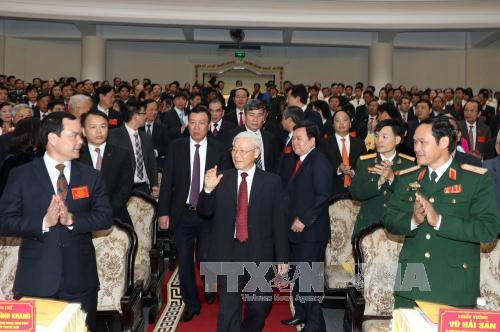 Le Vietnam rend hommage au secretaire general Truong Chinh hinh anh 1