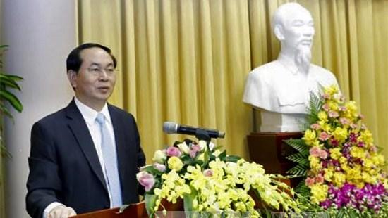 Le president exhorte a rehausser plus la qualite du conseil en strategie hinh anh 1