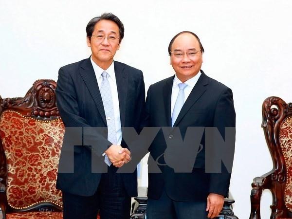 Le Premier ministre recoit l'ambassadeur du Japon au Vietnam hinh anh 1