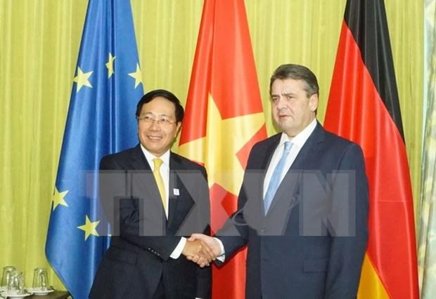 Vietnam et Allemagne sont convenus de dynamiser leur cooperation hinh anh 1