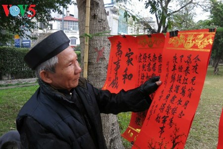 La calligraphie, une tradition solidement ancree dans les mœurs hinh anh 2