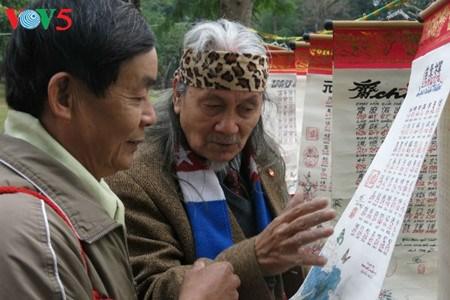 La calligraphie, une tradition solidement ancree dans les mœurs hinh anh 3