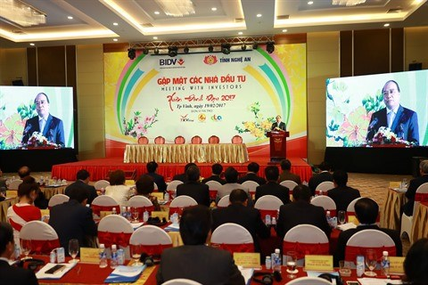 Le Premier ministre Nguyen Xuan Phuc a la conference des investisseurs a Nghe An hinh anh 2