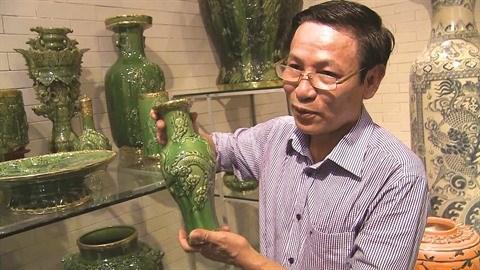 Tran Van Do, l'artisan qui redonne vie aux emaux anciens hinh anh 1