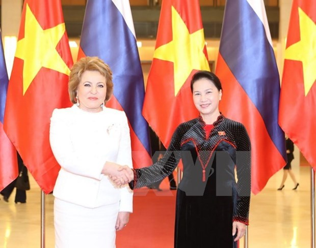 Vietnam-Russie : Renforcement des relations entre les deux organes legislatifs hinh anh 1