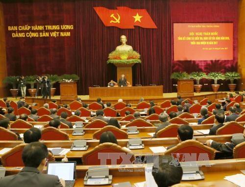 Le chef du Parti demande de renforcer le travail de controle et de surveillance hinh anh 1