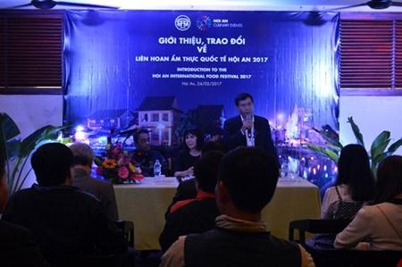 Le Festival international de la gastronomie de Hoi An fera valser les papilles hinh anh 1