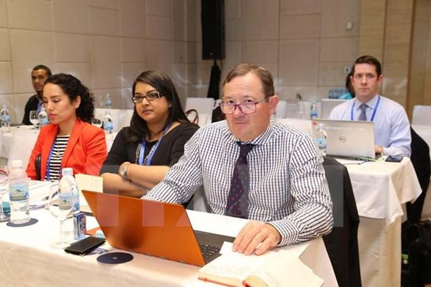 APEC: La SOM 1 et les reunions connexes s'achevent a mi-chemin hinh anh 1