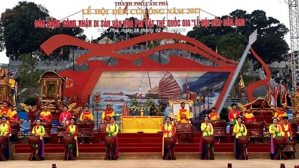 La fete du temple de Cua Ong, patrimoine culturel, attire la foule hinh anh 2