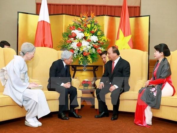 La visite de l'empereur japonais est un jalon important dans les relations Vietnam-Japon hinh anh 1