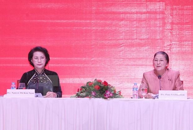 La presidente de l'Assemblee nationale du Laos Pany Yathotou attendue au Vietnam hinh anh 1