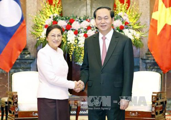 Vietnam-Laos:: Le president invite les deux AN a œuvrer a la realisation des accords hinh anh 1