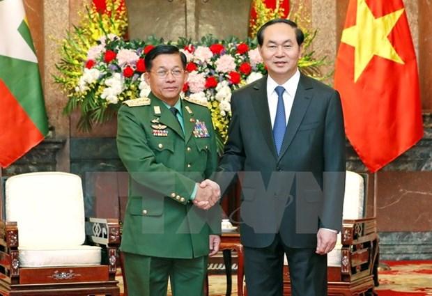 """Le Myanmar, """"partenaire de premier rang du Vietnam"""" hinh anh 1"""