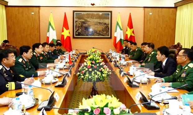 """Le Myanmar, """"partenaire de premier rang du Vietnam"""" hinh anh 2"""