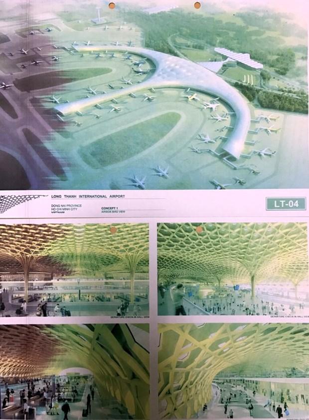 Le Vietnam reflechit a l'architecture de son plus grand aeroport hinh anh 3
