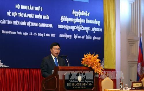 Vietnam-Cambodge : 9e conference de cooperation et de developpement des provinces limitrophes hinh anh 1