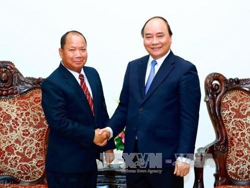 Promouvoir la cooperation entre les ministeres vietnamien et laotien de la Securite publique hinh anh 1