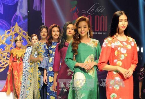La 4e Fete de l'ao dai se cloture en beaute a Ho Chi Minh-Ville hinh anh 2