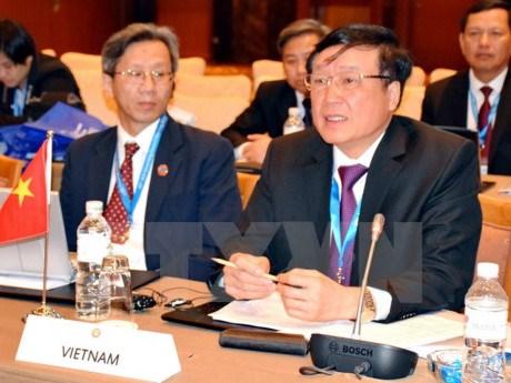 Vietnam a la 5e reunion du Conseil des chefs de la Justice de l'ASEAN hinh anh 1