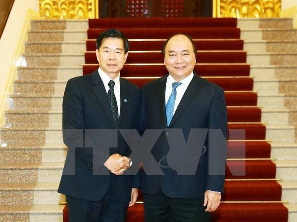 Le Premier ministre salue la cooperation entre Hanoi et Vientiane hinh anh 1