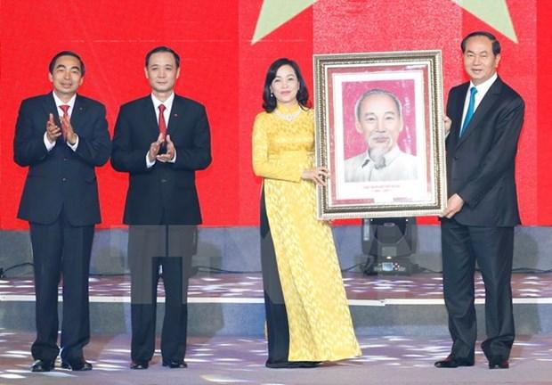 A Ninh Binh, le president Tran Dai Quang montre la voie hinh anh 1