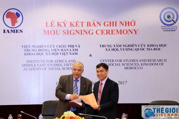 Vietnam et Maroc cooperent dans l'echange des informations scientifiques hinh anh 1