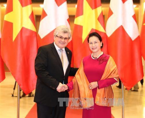 Entre le Vietnam et la Suisse, une relation au beau fixe hinh anh 1