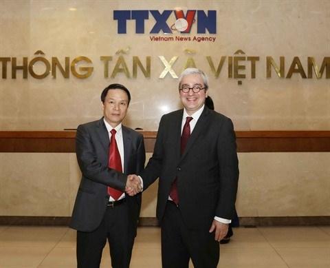 La VNA souhaite cooperer avec l'AFP dans la formation hinh anh 1