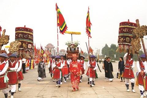 Terre des rois fondateurs, Viet Tri deviendra une ville festivaliere hinh anh 1