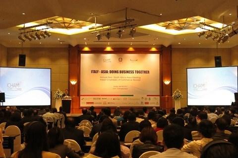 Des echanges Vietnam-Italie de 4,6 milliards de dollars en 2016 hinh anh 1