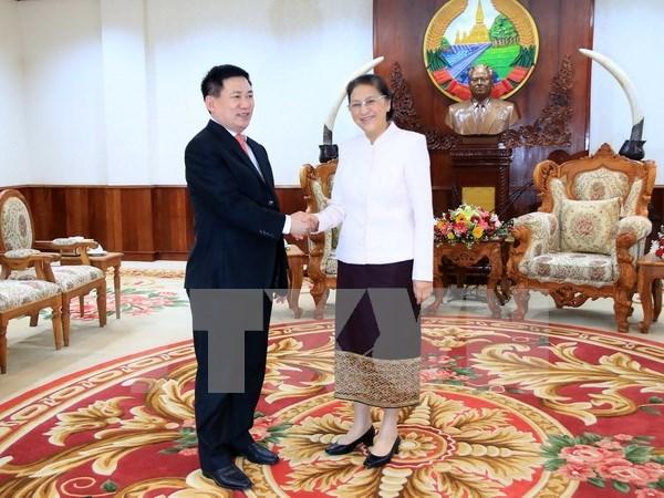 Le Laos tient en haute estime le soutien de l'Audit d'Etat du Vietnam hinh anh 1